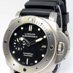 Panerai Luminor Submersible 305 Dive Watch Titanium BoxPap
