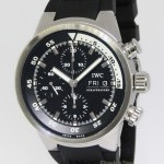 IWC Aquatimer Chronograph Stainless Steel Black Dial A