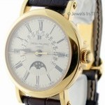Patek Philippe Perpetual Calendar 18K Yellow Gold Mens Watch BoxP