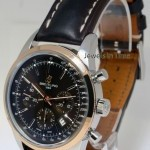 Breitling Transocean Chronograph 43mm Steel 18k Rose Gold Wa