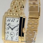 Patek Philippe Mens Gondolo 18k Yellow Gold Watch BoxPapers 5024