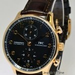 IWC Portuguese Chronograph Automatic 18k Rose Gold Men