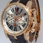 Roger Dubuis Excaliber 18k Gold  Diamond Chronograph BoxPapers