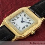 Cartier Santos Dumont 18 ct gold manual winding Kal96