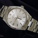 Rolex Mens  Air-King No Date Stainless Steel Watch wSilv