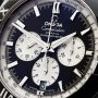 Omega Constellation Double Eagle Chronograph SS Mens 151