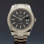 Rolex Datejust Ii 40Mm Stainless Steel18K White Gold 116