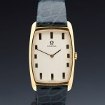 Omega Vintage 18k Yellow Gold Plated