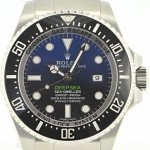 Rolex Sea Dweller Deep Sea 116660 Deep Blue LC100