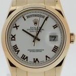 Rolex Day Date 18K Everose 118205