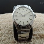 Rolex Air King 5500 Original Silver Dial With Folded Oys