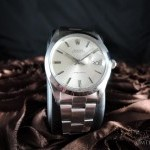 Rolex Oyster Date 6694 Original Silver Dial With Folded