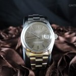 Rolex Oyster Date 1500 Original Brown Dial With Solid Ba