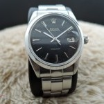 Rolex Oyster Date 6694 Original Gilt Dial With Rivet Bra