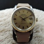 Rolex Air King Date 5701 With Original Gold Dial