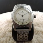 Rolex Bubbleback 2940 With 2-tone Grey Dial With Raised