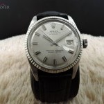 Rolex Datejust 1601 Ss With Original Wide Boy No Lume Di