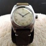 Rolex Bubbleback 2940 With Original Creamy Dial With Rai