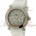 Chopard Happy Sport II Round quotWhite Snow Flakequot Dial