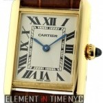 Cartier Tank Louis 18k Yellow Gold Ladies 22mm