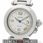 Cartier Pasha C Automatic 35mm White Dial