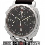 Militare Crono Stainless Steel Black Dial