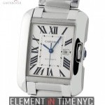Cartier Tank Anglaise Medium 30mm Stainless Steel