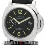 Panerai Luminor Marina 44mm Stainless Steel Black Dial