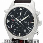 IWC Pilot Double Chronograph 46mm Stainless Steel