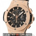 Hublot Aero Bang 18k Rose Gold Chronograph 44mm