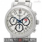 Chopard Chronograph Stainless Steel 39mm Silver Dial