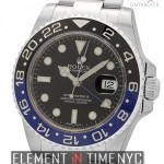 Rolex Stainless Steel Black  Blue 40mm