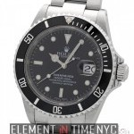 Rolex Stainless Steel Black Dial