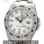 Rolex 42mm White Dial