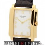 Patek Philippe Ladies 18k Yellow Gold White Dial