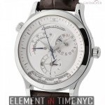Jaeger-LeCoultre Master Geographic 38mm Stainless Steel