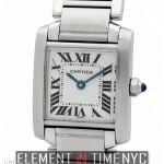 Cartier Tank Francaise Stainless Steel Ladies 20mm