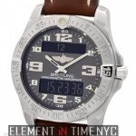 Breitling Aerospace Evo Titanium 43mm Grey Arabic Dial