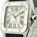 Cartier Santos 100 Stainless Steel 36mm