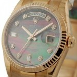 Rolex President Tahitian Mother Of Pearl Diamond Dial