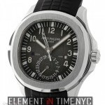 Patek Philippe Travel Time Stainless Steel Black Dial 41mm