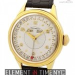 Movado Triple Calendar 18k Yellow Gold 34mm