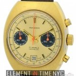 Wakmann Vintage 3 Register Chrono Gold Plated