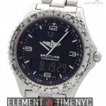 Breitling Stainless Steel 42mm Quartz 1990s