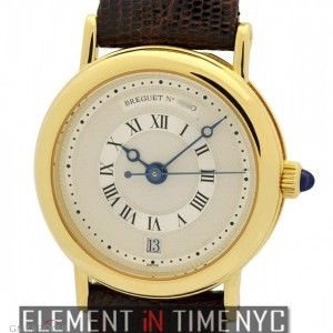 Breguet Ladies 26mm 18k Yellow Gold Automatic