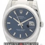 Rolex Date 34mm Stainless Steel