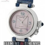 Cartier Pasha C Stainless Steel 35mm Pink Dial