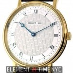 Breguet 18k Yellow Gold Manual Wind Silver Dial 41mm