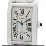 Cartier Tank Americaine 18k White Gold Large 27mm