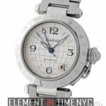 Cartier Pasha GMT Stainless Steel 35mm Automatic